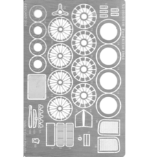 Photo-etched parts set for Ford GT40 1964