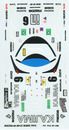 Decals set for Mazda MX-R01 #6