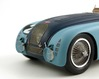 Bugatti 57G focus on the front wheel