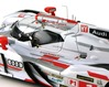 Audi R18 TDI n°2 - 24 Heures du Mans 2013 - chrome-plated roof